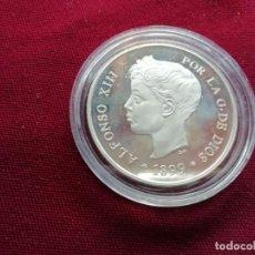 Monedas antiguas de Oceanía: ISLAS PALAU. 5 DOLLARS DE PLATA DE 1899. EFIGIE REY ALFONSO XIII. ENCAPSULADA. Lote 133756826