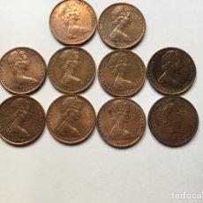Monedas antiguas de Oceanía: 998 ) N, ZELANDA, 10 MONEDAS DE 1 CENT, TODAS DISTINTAS FECHAS, EN MUY BUEN ESTADO,,. Lote 134018253