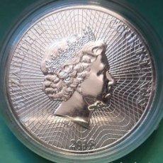 Monedas antiguas de Oceanía: ISLAS COOK - 1 DOLAR 2018 - 1 ONZA DE 9999 PURA PLATA FINA - BARCO - ENCAPSULADA - SIN CIRCULAR. Lote 134664738