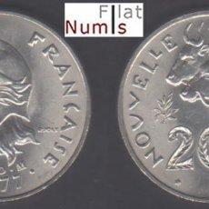 Monete antiche di Oceania: NUEVA CALEDONIA - 20 FRANCOS - 1977 - NIQUEL - NO CIRCULADA. Lote 134831250
