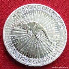 Monedas antiguas de Oceanía: AUSTRALIA 1 $ 2018 CANGURO. Lote 140320730
