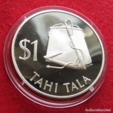 Monedas antiguas de Oceanía: TOKELAU $ 1 1979 PROOF. Lote 140327250
