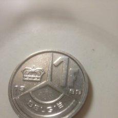 Monedas antiguas de Oceanía: 1 FRANCO 1989 BELGIQUE BELGICA. Lote 142428292
