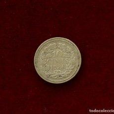 Monedas antiguas de Oceanía: 10 CENTS 1928 PLATA HOLANDA. Lote 142965094