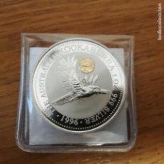 Monedas antiguas de Oceanía: ONZA DE PLATA PURA AUSTRALIA KOOKABURRA GOYA 1996. SC. Lote 142982438