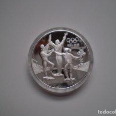 Monedas antiguas de Oceanía: MONEDA DE PLATA 20 DOLARES 1993 AUSTRALIA. COI 1896-1996. 1 ONZA. 33,63 GR (AG 925) PROOF.. Lote 143758378