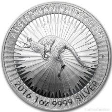 Monedas antiguas de Oceanía: ONZA PLATA PURA, AUSTRALIA 2016, CANGURO, CALIDAD SC , PLATA 999. Lote 257855675
