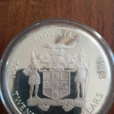 Monedas antiguas de Oceanía: 25 DOLLARS JAMAICA 1978 PLATA 925 136 GR. Lote 146724742