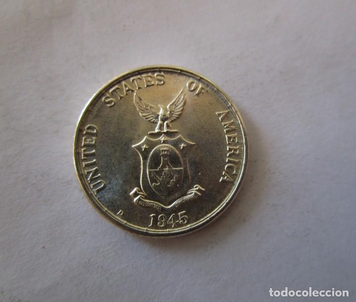 Alte Münzen aus Ozeanien: FILIPINAS . 20 CENTAVOS DE PLATA . AÑO 1945. SIN CIRCULAR - Foto 2 - 147563768
