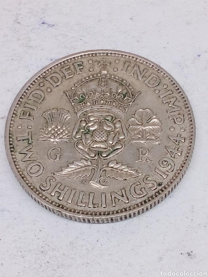MONEDA EXCELENTE MONEDA GEORGIVS VI D: G: BR: OMN:REX 1944 PLATA (Numismática - Extranjeras - Oceanía)