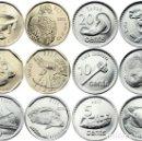 Monedas antiguas de Oceanía: SERIE FIJI 2012 5 ,10, 20 Y 50 CENTS , 1 Y 2 DOLARES ANIMALES . Lote 160832929