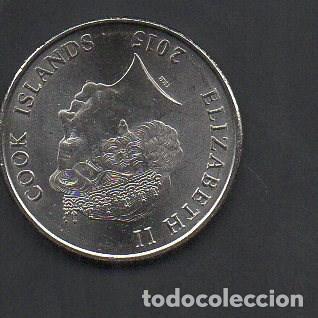 Alte Münzen aus Ozeanien: ISLAS COOK, 20 CENTAVOS 2015, MUY ESCASA, SIN CIRCULAR - Foto 2 - 148876878