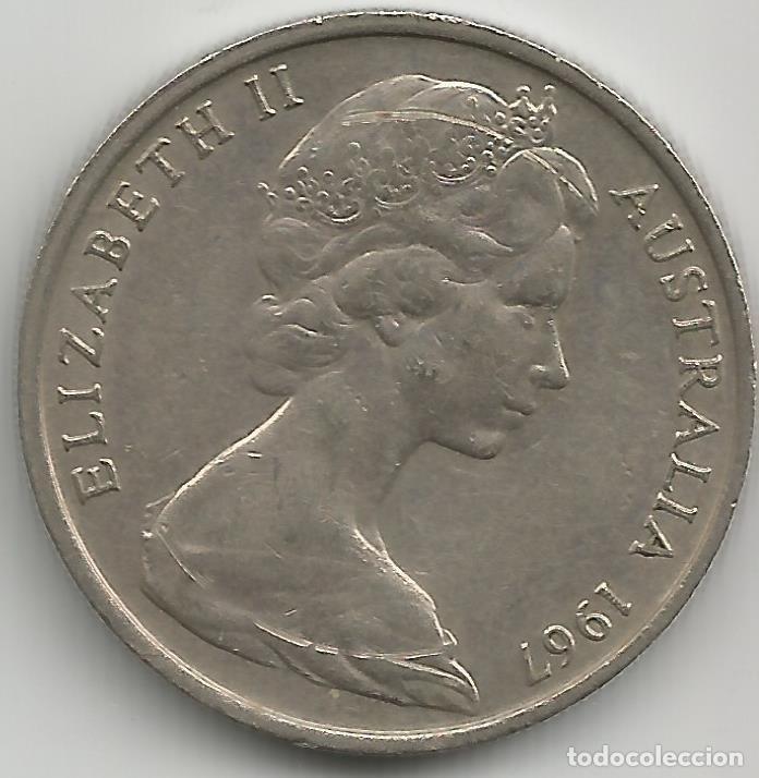 Monedas antiguas de Oceanía: AUSTRALIA - 20 CENT 1967 - EBC - CAT. SCHONE Nº 53 - VISITA MIS OTROS LOTES Y AHORRA GASTOS - Foto 2 - 149640606