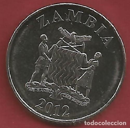 Monedas antiguas de Oceanía: ZAMBIA - LOTE DE 5 NGWEE - 1 KWACHA 2012 - SC - VISITA MIS OTROS LOTES Y AHORRA GASTOS DE ENVÍO - Foto 7 - 149885698