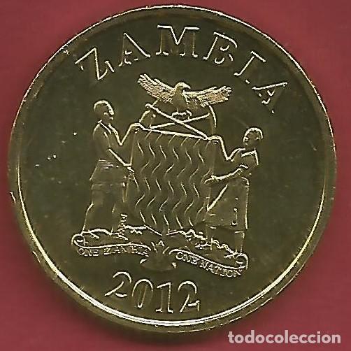 Monedas antiguas de Oceanía: ZAMBIA - LOTE DE 5 NGWEE - 1 KWACHA 2012 - SC - VISITA MIS OTROS LOTES Y AHORRA GASTOS DE ENVÍO - Foto 8 - 149885698