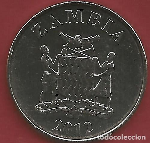 Monedas antiguas de Oceanía: ZAMBIA - LOTE DE 5 NGWEE - 1 KWACHA 2012 - SC - VISITA MIS OTROS LOTES Y AHORRA GASTOS DE ENVÍO - Foto 10 - 149885698