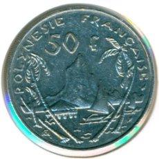 Monedas antiguas de Oceanía: POLINESIA FRANCESA 50 FRANCOS 1982 ( BC+ ) KM # 13. Lote 151179538