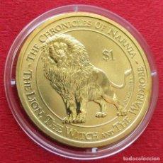 Monedas antiguas de Oceanía: NUEVA ZELANDA 1 $ 2006 LEON CRÓNICAS DE NARNIA NEW ZEALAND. Lote 151323490