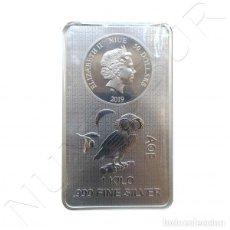 Monedas antiguas de Oceanía: ISLAS NIUE 50 DOLARES PLATA 1 KILO 2019 BUHO - 50$ NIEU ISLANDS ATHENIAN OWL. Lote 151511246