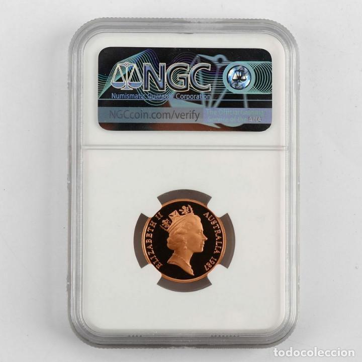 Monedas antiguas de Oceanía: 1987 Australia 2c NGC PF 70 RD ULTRA CAMAFEO - Foto 2 - 153458498