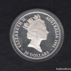 Monedas antiguas de Oceanía: AUSTRALIA. AÑO 1993.- 20 DOLLAR PLATA.. Lote 156806890