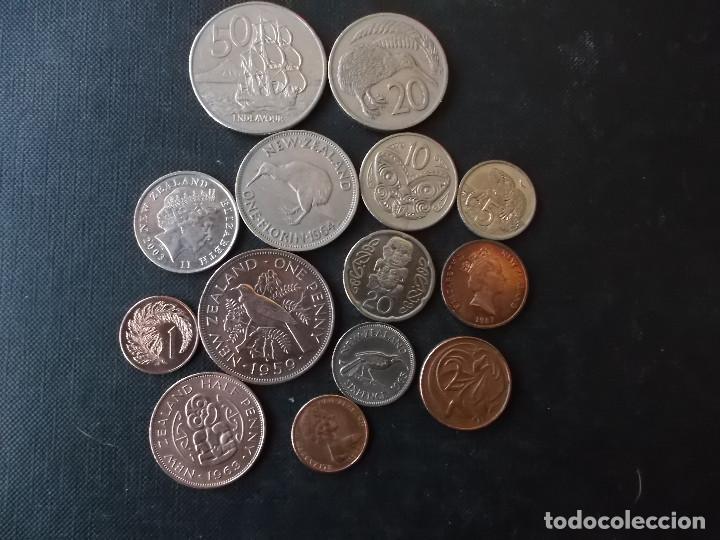 CONJUNTO DE MONEDAS DE NUEVA ZELANDA ALGUNAS DIFICILES (Numismática - Extranjeras - Oceanía)