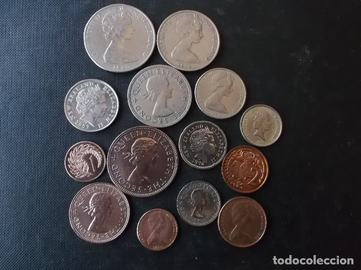 Monedas antiguas de Oceanía: conjunto de monedas de Nueva Zelanda algunas dificiles - Foto 2 - 159724582