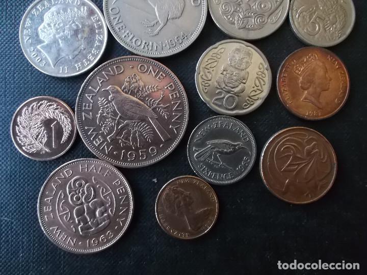 Monedas antiguas de Oceanía: conjunto de monedas de Nueva Zelanda algunas dificiles - Foto 4 - 159724582