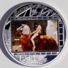 Monedas antiguas de Oceanía: FALSA DE ÉPOCA, 2013 LADY GODIVA, JOHN COLLIER. Lote 159829314