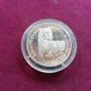 Monedas antiguas de Oceanía: ISLAS COOK. 10 DOLLARS DE PLATA DE 1990. FAUNA. Lote 159833358