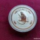 Monedas antiguas de Oceanía: AUSTRALIA. ONZA DE PLATA PURA DE 2004. AÑO DEL MONO. ENCAPSULADA. SC. Lote 159834062