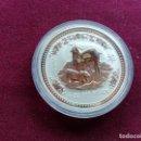 Monedas antiguas de Oceanía: AUSTRALIA. ONZA DE PLATA PURA DE 2003. AÑO DE LA CABRA. ENCAPSULADA. SC. Lote 159834114