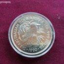 Monedas antiguas de Oceanía: AUSTRALIA. 1 ONZA DE PLATA PURA. 5 DOLARES. KOOKABURRA. 1990. Lote 159834478