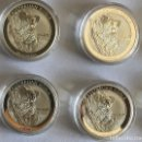Monedas antiguas de Oceanía: 4 X 1 OZ KOALA 1$ AUSTRALIANA 2015 EN CAPSULAS. Lote 160689918