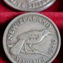 Monedas antiguas de Oceanía: MONEDA PLATA NUEVA ZELANDA. 6 PENCE 1940. KM#8. Lote 160714957