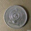 Monedas antiguas de Oceanía: 5 RUPIAD SRI LANKA. Lote 160892529