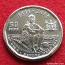 Monedas antiguas de Oceanía: FIJI 50 CENTS 2017 REGBY. Lote 161183958