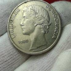 Monedas antiguas de Oceanía: 25 ESCUDOS 1980 PORTUGAL. Lote 161376178