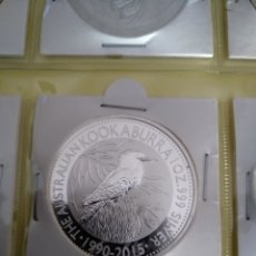 Monedas antiguas de Oceanía: 1 ONZA AUSTRALIA 2015 KOOKABURRA. Lote 162394350