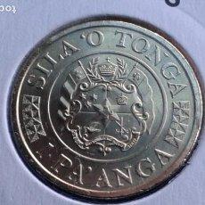 Monedas antiguas de Oceanía: TONGA 1 PA' ANGA 2015. Lote 165109358