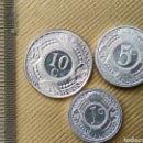 Monedas antiguas de Oceanía: ANTILLAS HOLANDESAS 3 MONEDAS. Lote 165636965