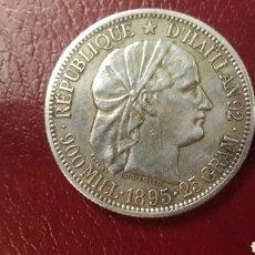 Monedas antiguas de Oceanía: REPÚBLICA HAITÍ RARA MONEDA PLATA. Lote 166121693