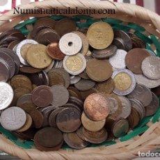 Monedas antiguas de Oceanía: LOTE 1 KILO VARIADO DE MONEDAS DEL MUNDO CIRCULADAS. Lote 245615460