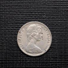 Monedas antiguas de Oceanía: AUSTRALIA 5 CENTS 1969 KM64. Lote 169792668