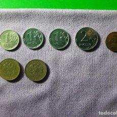 Monedas antiguas de Oceanía: LOTE MONEDAS RUSAS. AÑO 2000. Lote 170176920