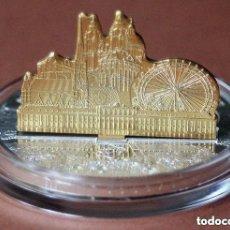 Monedas antiguas de Oceanía: MONEDA DE PLATA 3 D ISLAS COOK - $ 10 AÑO 2011 - 1 OZ - PLATA . Lote 171304703