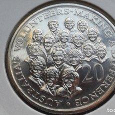 Monedas antiguas de Oceanía: AUSTRALIA 20 CENTAVOS 2003 (SIN CIRCULAR). Lote 173449683