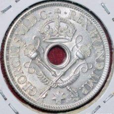 Monedas antiguas de Oceanía: NUEVA GUINEA, 1 SHILLING 1938 PLATA, SILVER, NEW GUINEA. Lote 173823452