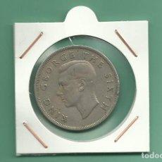 Monedas antiguas de Oceanía: NEW ZELANDA. 1/2 CROWN 1948. CUPRONIQUEL. Lote 173847865
