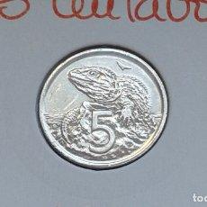 Monedas antiguas de Oceanía: NUEVA ZELANDA 5 CENTAVOS 1994. Lote 174012727